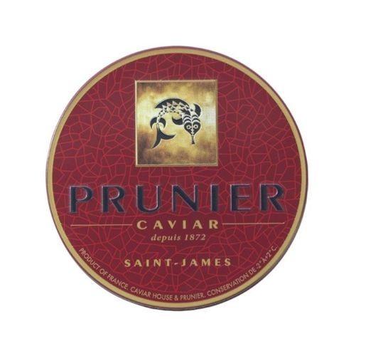 """Siberian Caviar """"St.James"""" von """"Prunier"""", frisch, 50g Dose"""