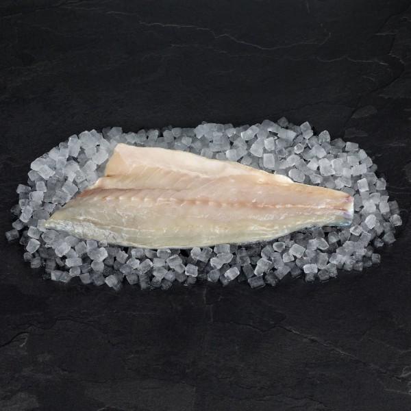 """Wolfsbarschfilet """"Loup de mer, Aquakultur 90-120 g, mit Haut, geschuppt"""