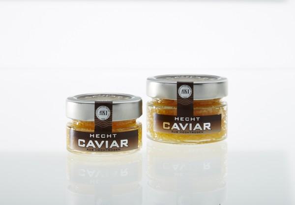 Hecht Malossol Kaviar, 50g Glas