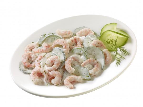 "Eismeer-Garnelen-Salat ""Island"""