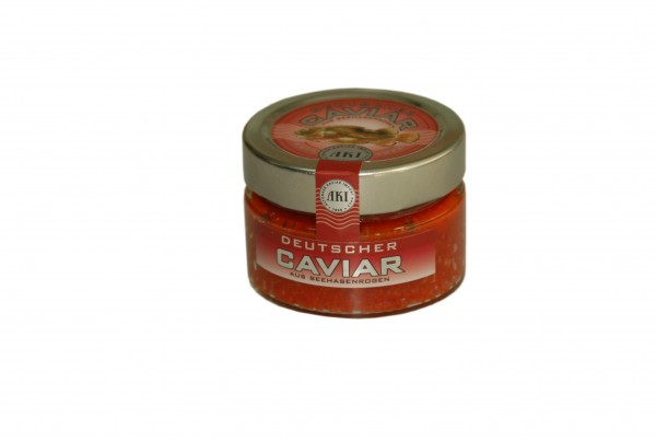 Deutscher Kaviar, rot, 100g Glas