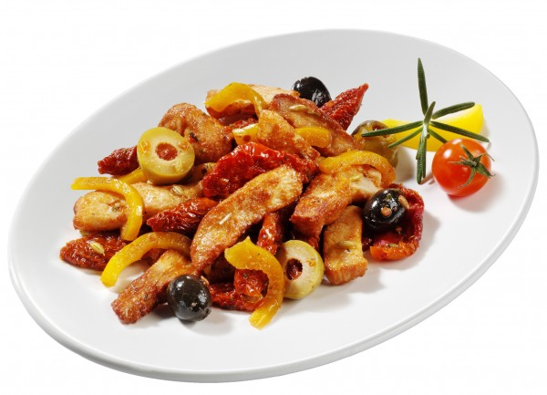 "Hähnchenbrust – Salat ""Toscana"""