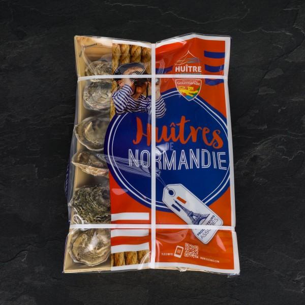 """Austern """"Normandie"""", Größe """"3/M"""", 12 Stück"""