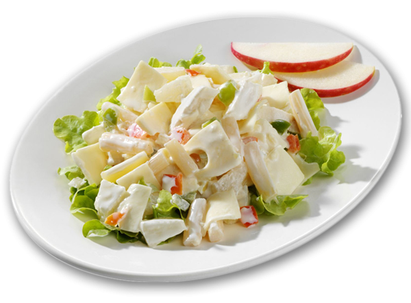 Schweizer-Käse-Salat