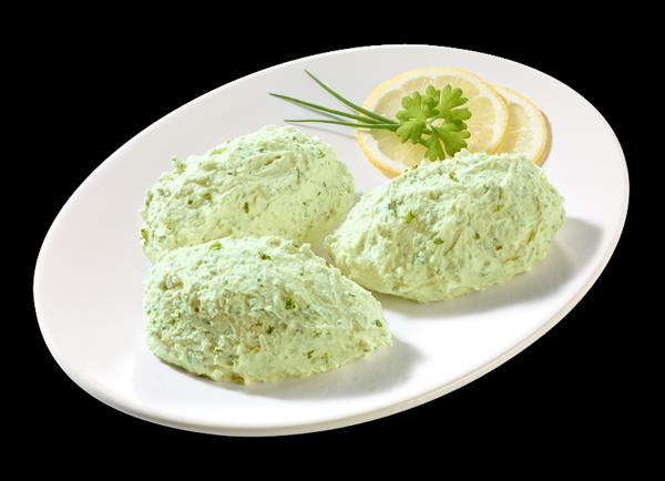 Wasabi-Frischkäsecreme