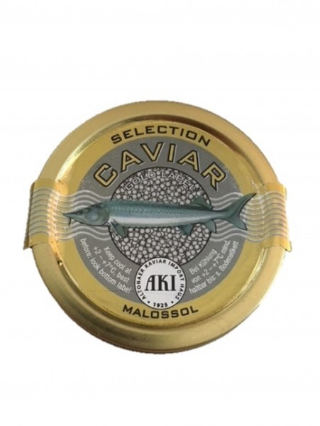 "Kaviar Selection ""Gold Label"" 50g Dose, frisch"