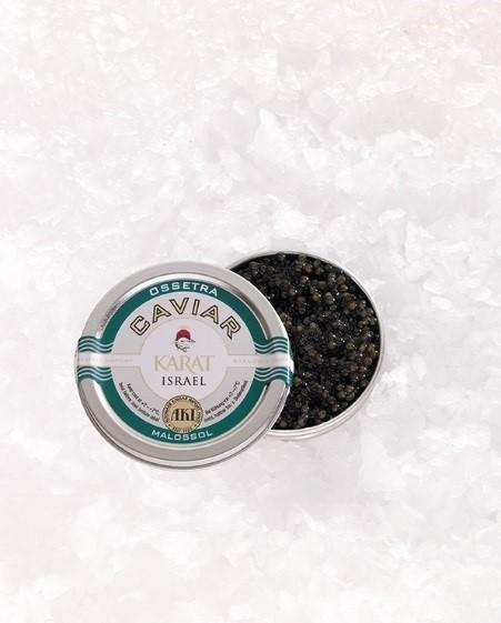 Ossetra Karat Caviar, frisch, 50g Dose